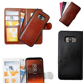 Samsung Galaxy S8 Plus échelle cas/magnétique en cuir