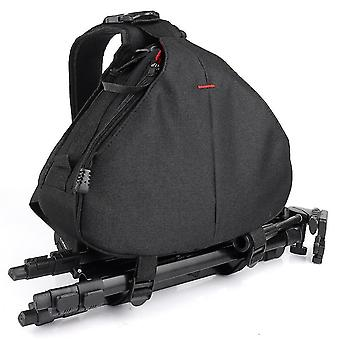 Outdoor messenger photography triangle camera bag for canon camera backpack