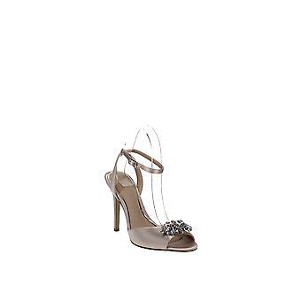 Jewel by Badgley Mischka | Hayden Fabric Peep Toe Dress Sandals