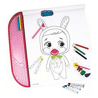 Picture Block for Colouring In Cefatoys Cry Babies Giga Block 5-in-1