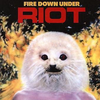 Riot - Fire Down Under CD