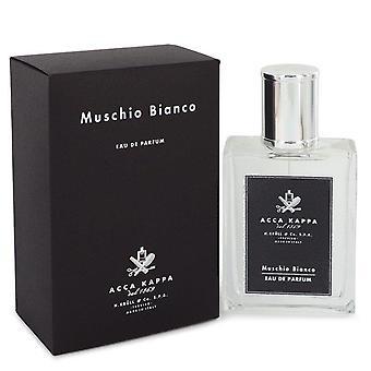 Muschio bianco (white musk/moss) eau de parfum spray (unisex) by acca kappa 542441 100 ml