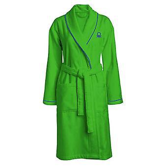 Dressing Kleid Benetton Regenbogen Baumwolle (M/L)/blau
