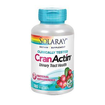 Solaray CranActin, 400 mg, 180 Bouchons végétal