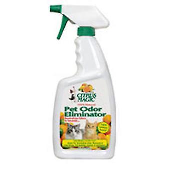 Citrus Magic Pet Odor Eliminator, 22 Oz Light Lemon Scent