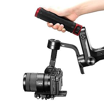 Camera handheld gimbal stabilizer quick release handle grip for weebill lab/s handgrip 1/4 inch 3/8 inch mounting hole cold shoe
