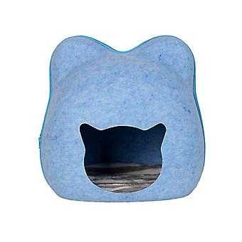 Dog Cat Bed Cave Sleeping Bag Felt Cloth Pet House Nest Cat Basket Products With Cushion Mat for