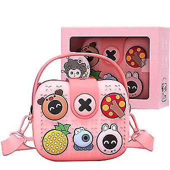 Disney børns håndtasker, skuldertasker, messenger tasker (Pink)