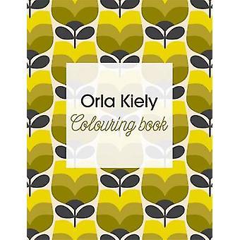 Orla Kiely colorante libro de Orla Kiely