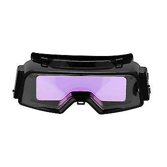 Automatisk mörkning svetsglasögon för tig mig mma professionella svetsglasögon multifunktionsverktyg