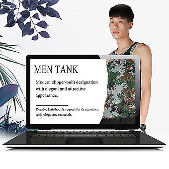 Módní vojenský styl Pánské Vesty Maskovací Tank Top Tight Sport Skinny
