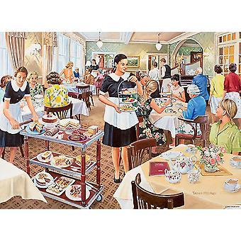 Ravensburger Happy Days at Work, Tarjoilija Jigsaw Puzzle (500 kappaletta)
