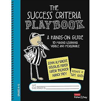 The Success Criteria Playbook: A Hands-On Guide to Making Learning Visible and Measurable