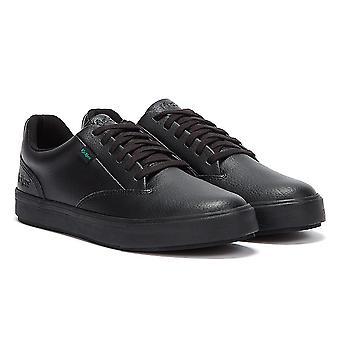 Kickers Tovni Tumble Leather Men Black Shoes