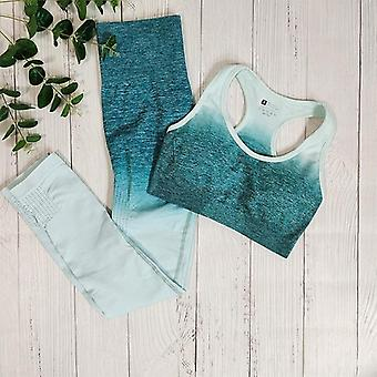 Yoga set fitness suit sports gym clothing workout clothes for woman