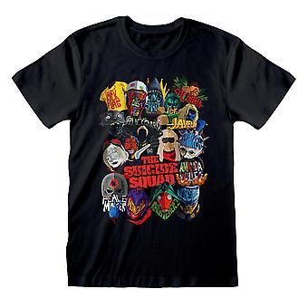 Suicide Squad Unisex Adult Poster T-Shirt
