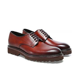 Loake Leather Freud Derby Zapatos