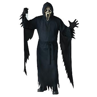 Zombie Ghost Face Killer Slasher SCRE4M Horror Deluxe Collector's Men Costume