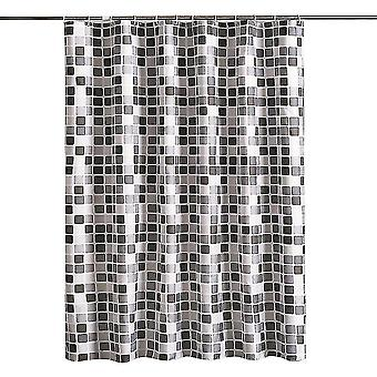 Shower curtains bathroom shower curtain hotel quality waterproof washable 180x200 black