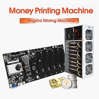Mining Motherboard 8 Gpu Mainboard mit CPU Crypto Ethereum Bitcoin Riserless Btc 37 Mining Expert Board Miner Gigabit Netzwerk