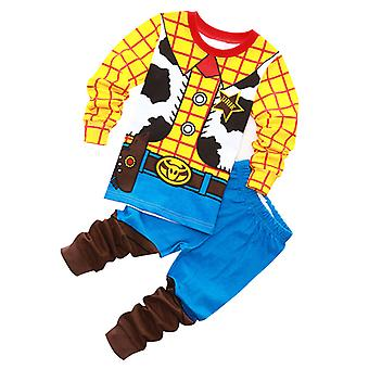 Příběh dětského oblečení Buzz Lightyear Woody Kid Boy Pyžamo Noční prádlo Pyžamo