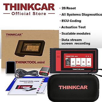 Thinktool Mini Free All Cars Full Sysstems 28 Resets Diagnostic Tools Bluetooth Ecu Obd2 Scanner For Auto Tpms Programmer Tester