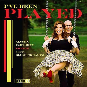 Alysha Umphress - I'Ve Been Played: Alysha Umphress Swings Jeff [CD] USA import
