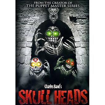 Skull Heads [DVD] USA import