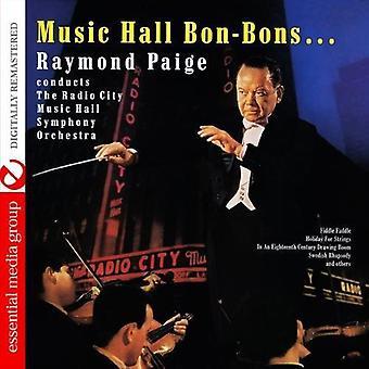 Paige, Raymond führt die Radio City Music Hall S - Music Hall Bon-Bons [CD] USA import