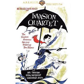 Hyökkäys kvartetin [DVD] USA tuonti