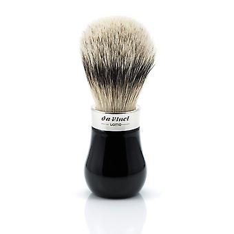 Da Vinci UOMO 293 Silvertip Badger Shaving Brush | ø22mm