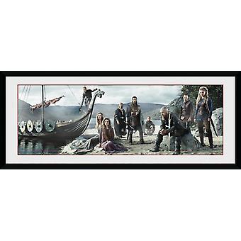 Vikings Beach Framed Collector Print