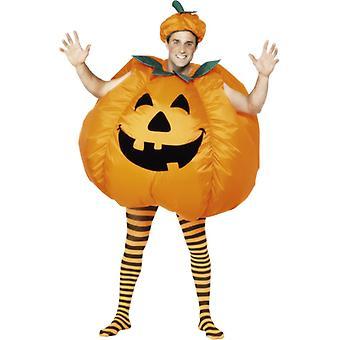 Traje inflable de calabaza de Halloween traje de calabaza