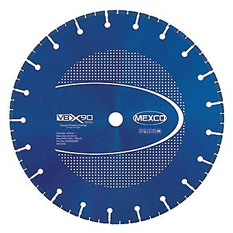 Mexco 115Mm vacuum brazed Diamond Blade multi-use X90 grad 22.23 mm
