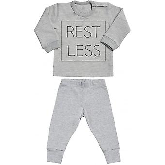 Spoilt Rotten RESTLESS Sweatshirt & Jersey Trousers Baby Outfit Set