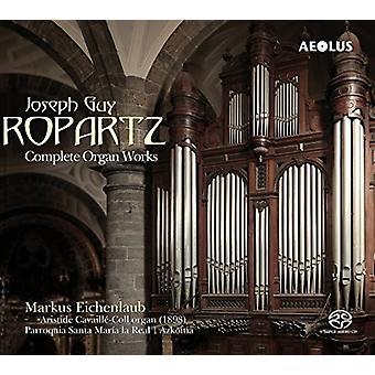 Ropartz / Eichenlaub - Ropartz / Eichenlaub: Complete Organ Works [SACD] USA import