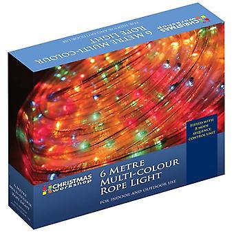 Weihnachten Xmas Lights 6 M blinken Lichtschlauch - mehrfarbig