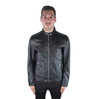 Diesel L-Reed 900A Leather Jacket
