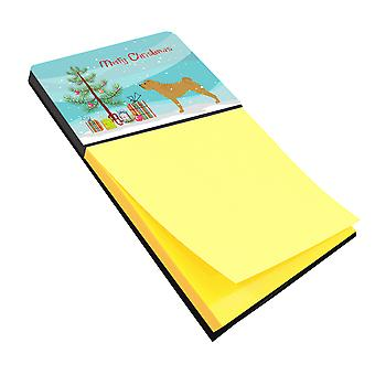 Carolines Treasures  BB2970SN Shar Pei Merry Christmas Tree Sticky Note Holder