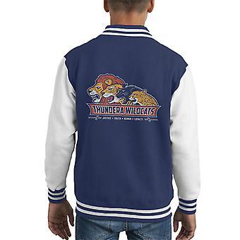 Thundercats Thundera ryś Varsity Kid uniwerek kurtka