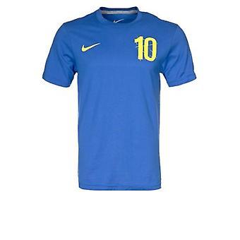 2012-13 Zweden Ibrahimovic Hero T-shirt (blauw)