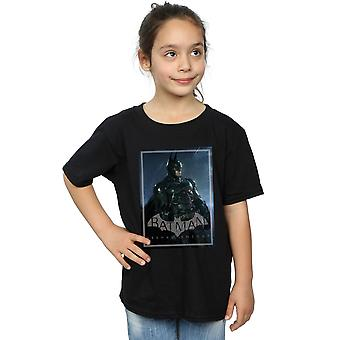 DC Comics flickor Batman Arkham Knight affisch T-Shirt