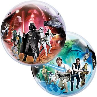 Qualatex 22 Inch Classic Star Wars Bubble Balloon