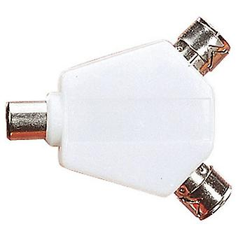 W4 2 Way Co-Axial Splitter