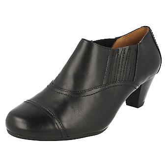 Ladies K par Clarks chaussures pantalons Smart Fearne épinette