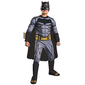 مقابل باتمان سوبرمان العاصمة الصدر العضلات ديلوكس خارقة كوميدية زي الأولاد