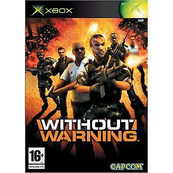 Sans avertissement (Xbox) - Nouveau