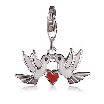 s.Oliver juvel damer vedhæng charm sølv af duer SOAKT/133-407175