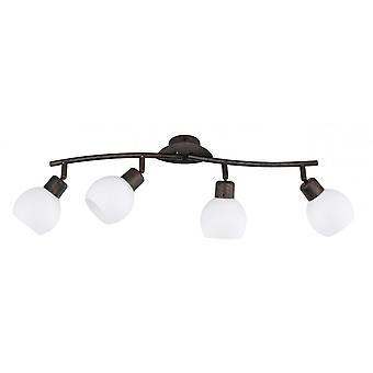 Трио освещения Фредди подлинные антикварные ржавчины пятна металла