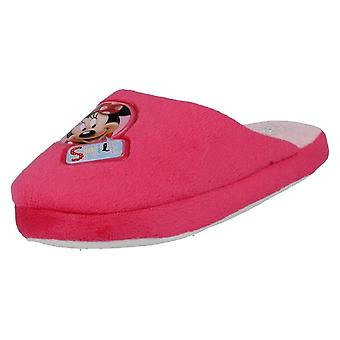 Girls Disney Minnie Mouse Slippers WD8147